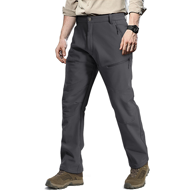 OEM Engroshandel Camping Fleece Outgower Softshell Pants Troiners with Zipper Pocket, Trekking Pants,Garment Manufacuer